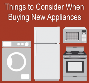 SHOULD I GET MY BROKEN APPLIANCE REPAIRED OR SHOULD I BUY A NEW ONE? WHAT BRANDS ARE RECOMMENDED?